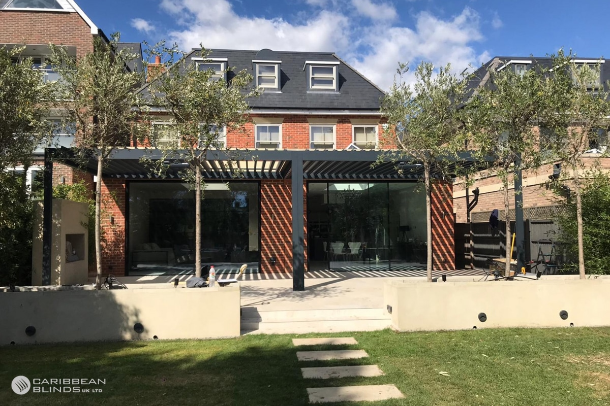 61 - Caribbean Blinds - Classic Outdoor Living Pod - Lean To - South Barnet