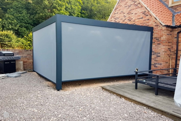 23 – Caribbean Blinds – Deluxe Outdoor Living Pod – Lean To – Doncaster