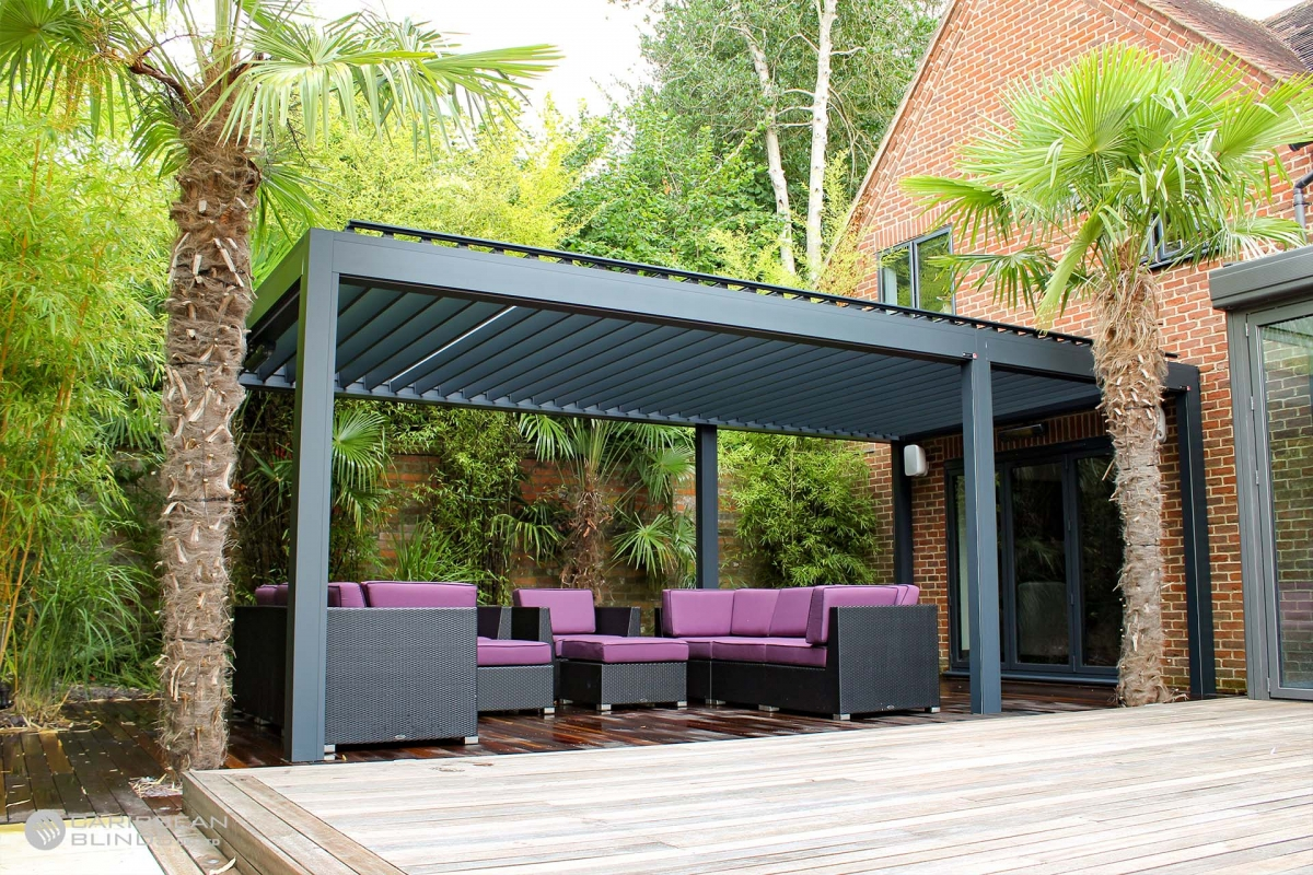 09 - Caribbean Blinds - Deluxe Outdoor Living Pod - Lean To - Streatly