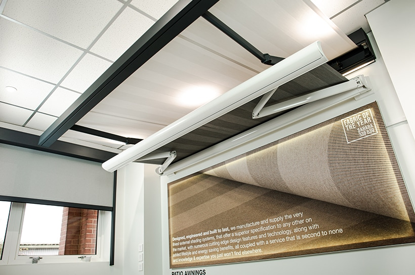 Patio Awning Showroom | Caribbean Blinds