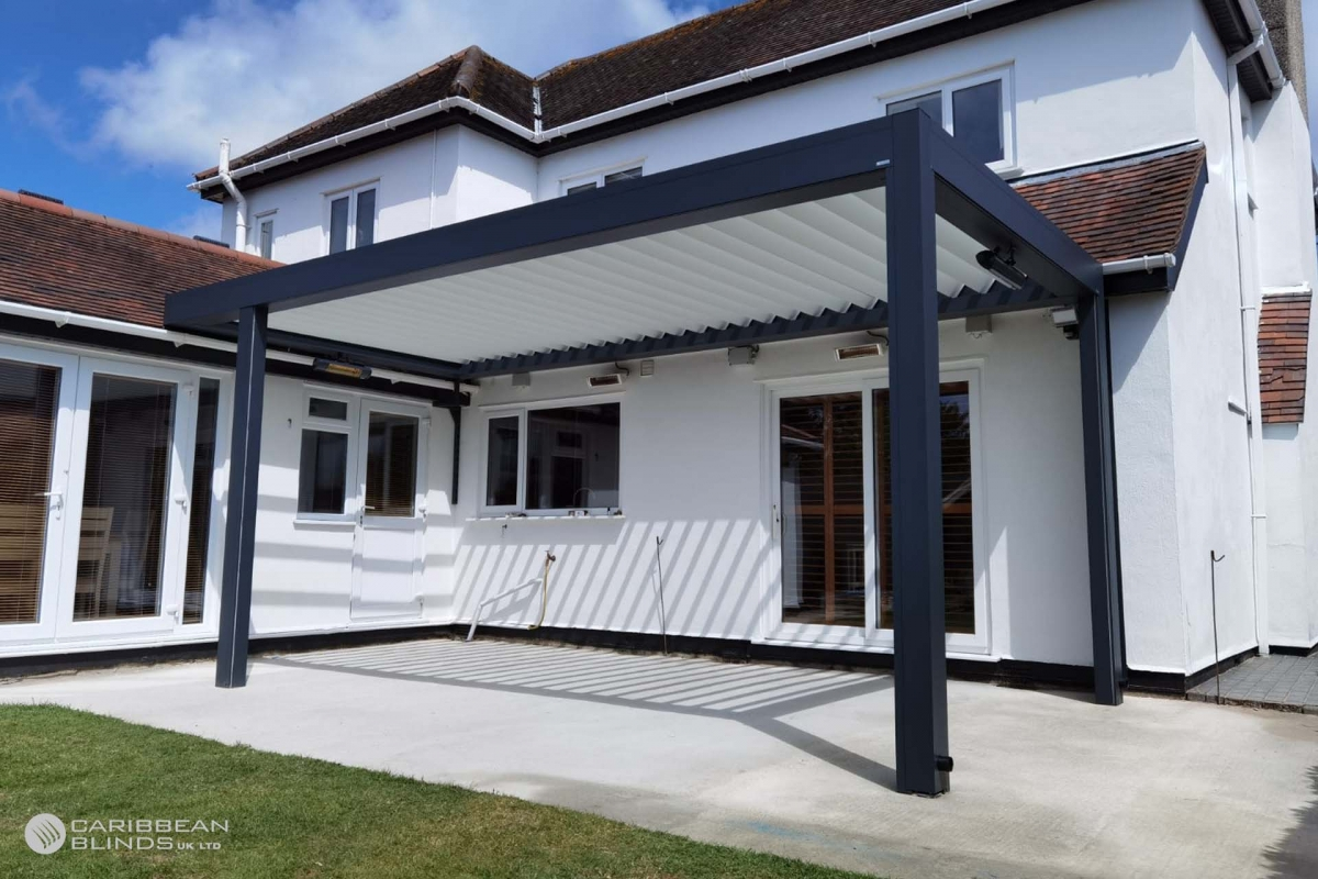 103 - Caribbean Blinds - Deluxe Outdoor Living Pod - Lean To - Bournemouth