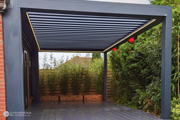 Louvered Roof   Outdoor Living Pod   Pergola   Canopy   Caribbean Blinds