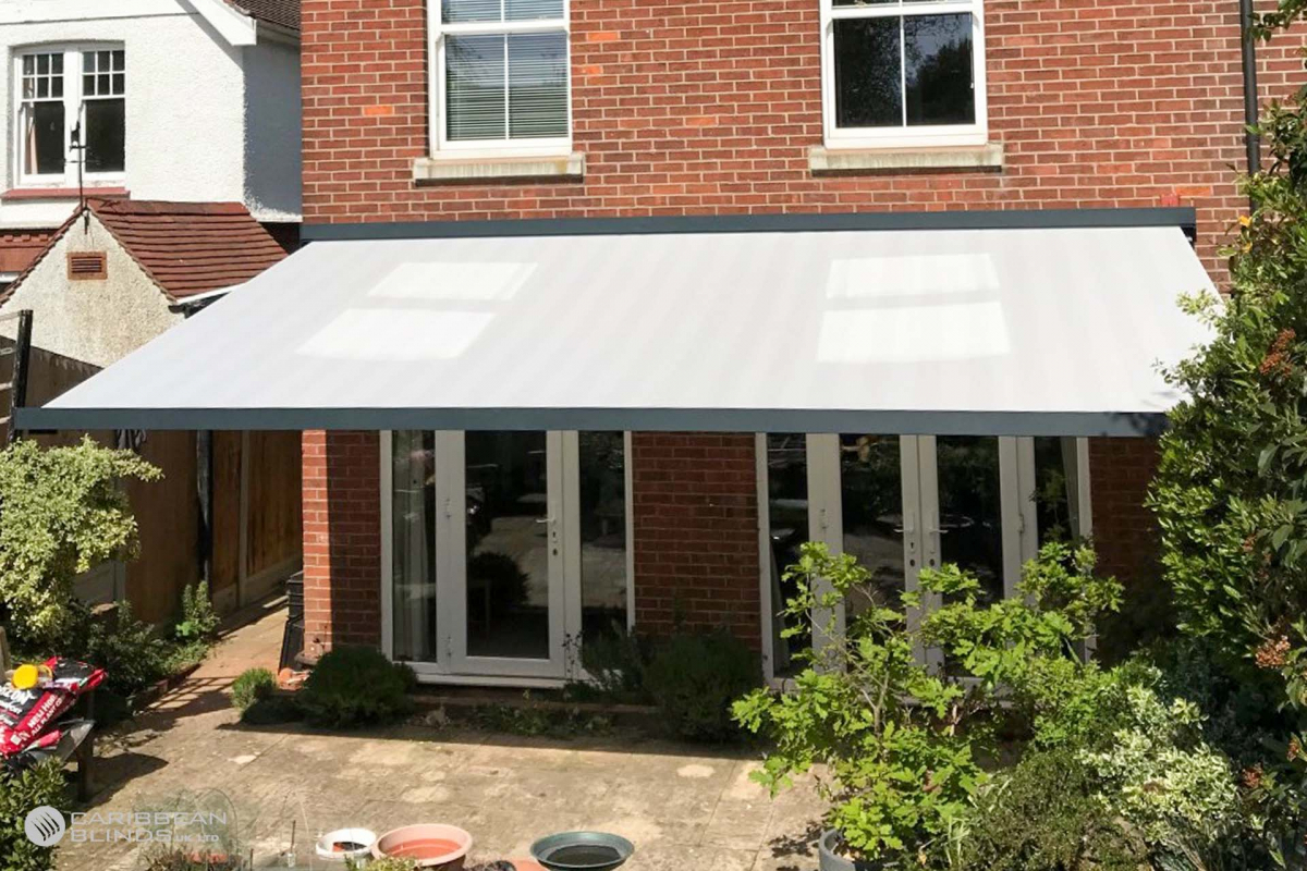 52 – Caribbean Blinds – Cuba Patio Awning – House – Colchester