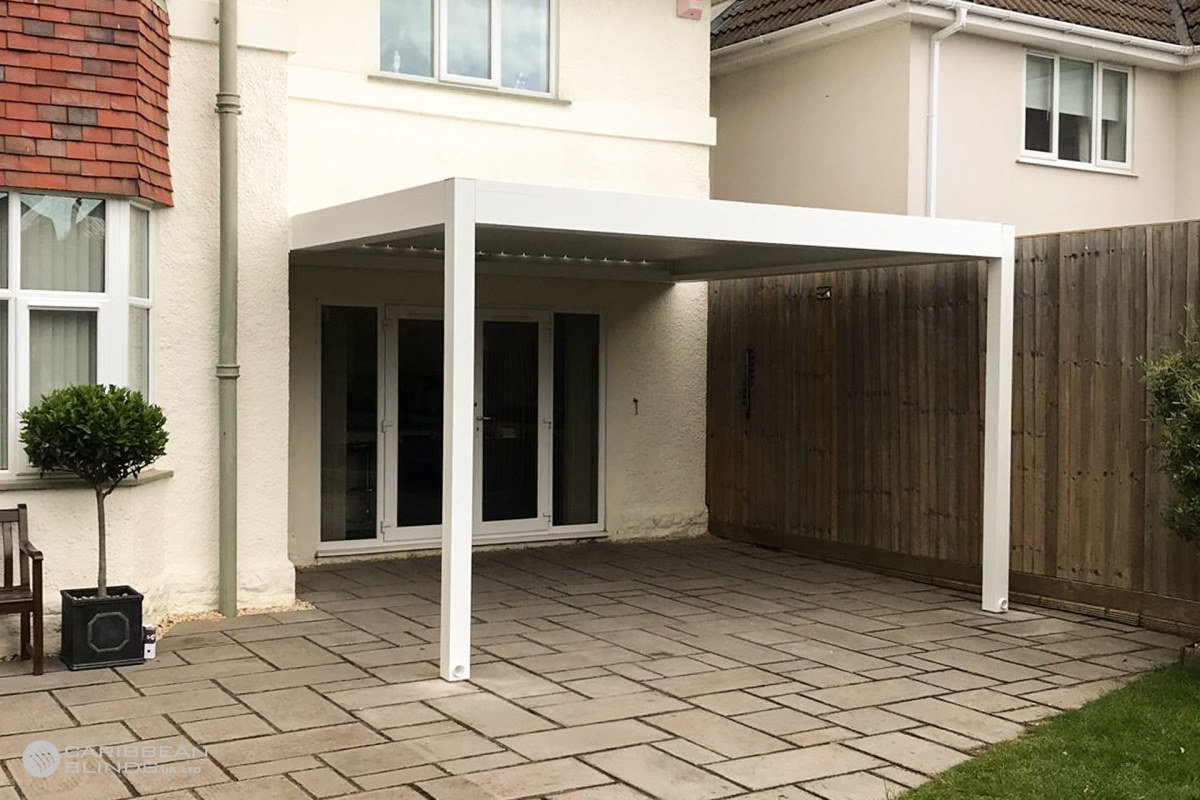 66 - Caribbean Blinds - Deluxe Outdoor Living Pod - Lean To - Weston Super Mare