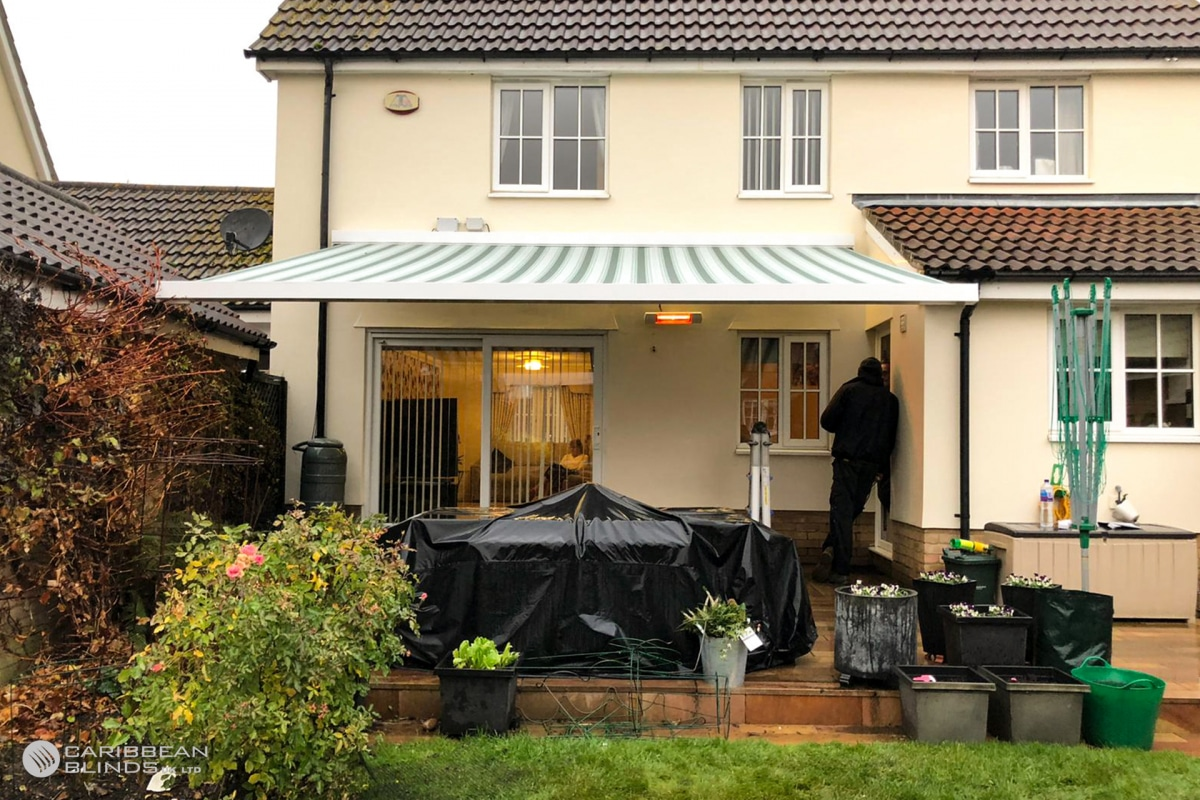 51 – Caribbean Blinds – Cuba Patio Awning – House – Chelmsford