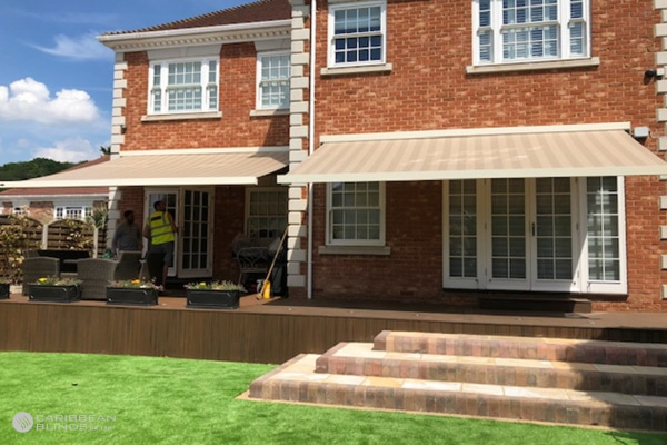 Patio Awnings | House | Caribbean Blinds