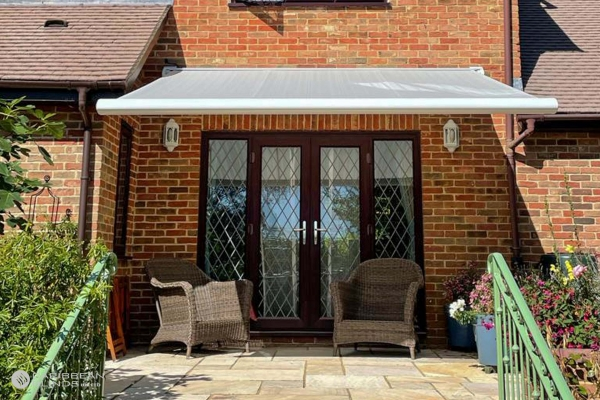 Patio Awnings   Houses   Caribbean Blinds