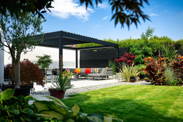 Louvered Roofs | Prestige Outdoor Living Pod | Caribbean Blinds