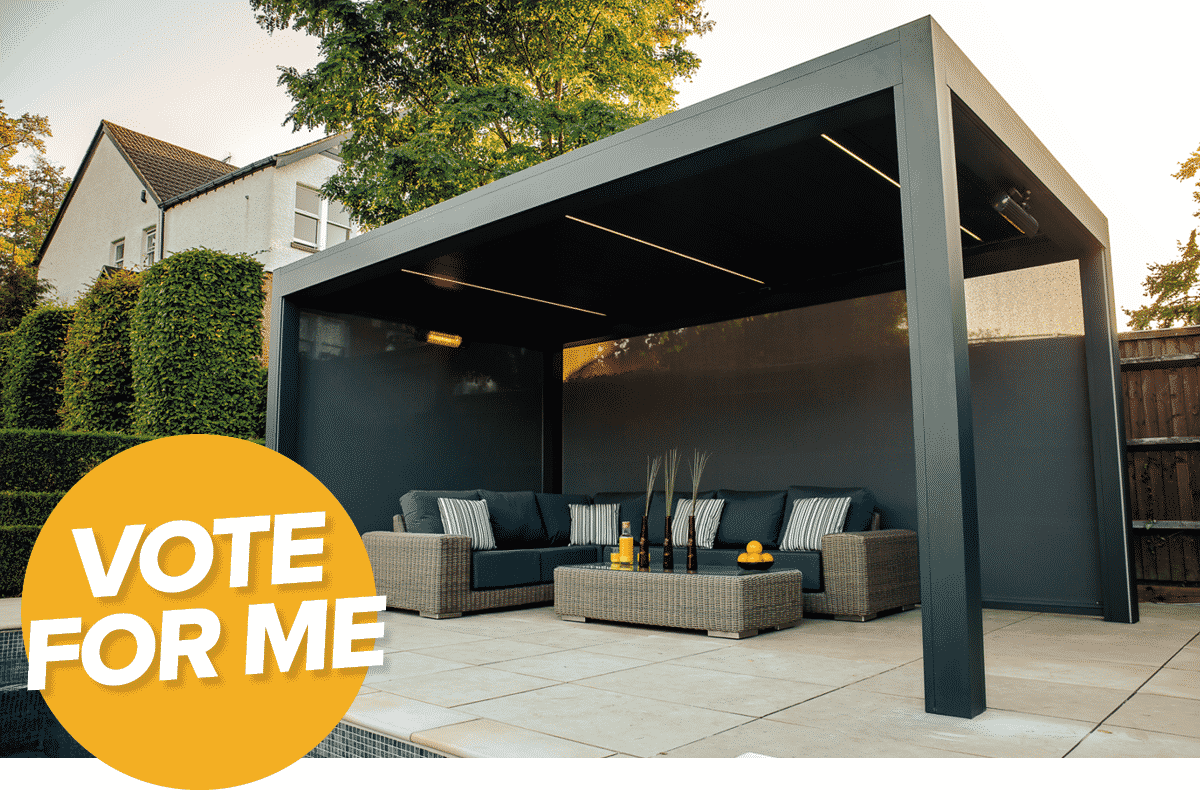 Real Homes Awards 2020 | Caribbean Blinds | Outdoor Living Pod