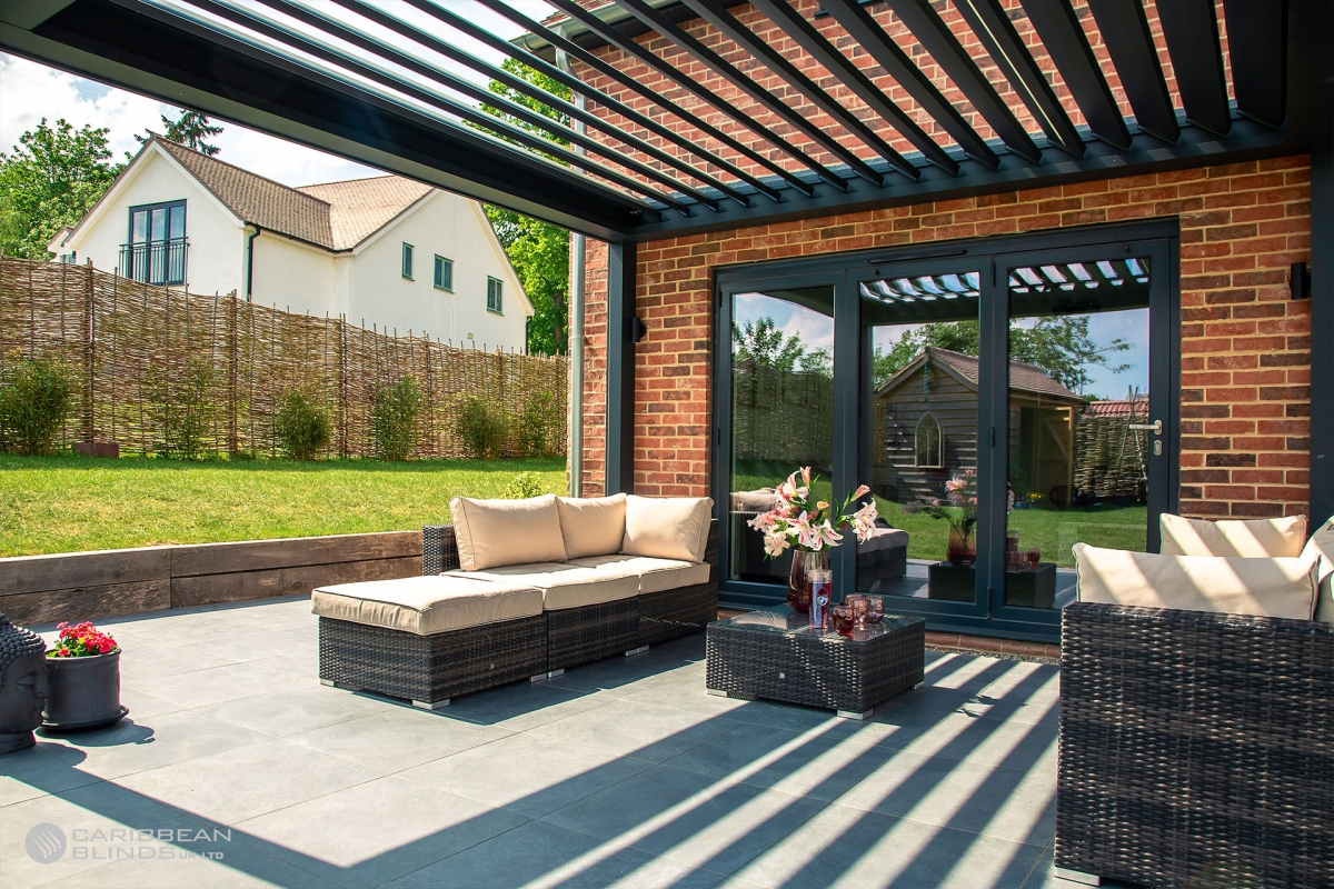 Louvered Roof | Outdoor Living Pod | Caribbean Blinds