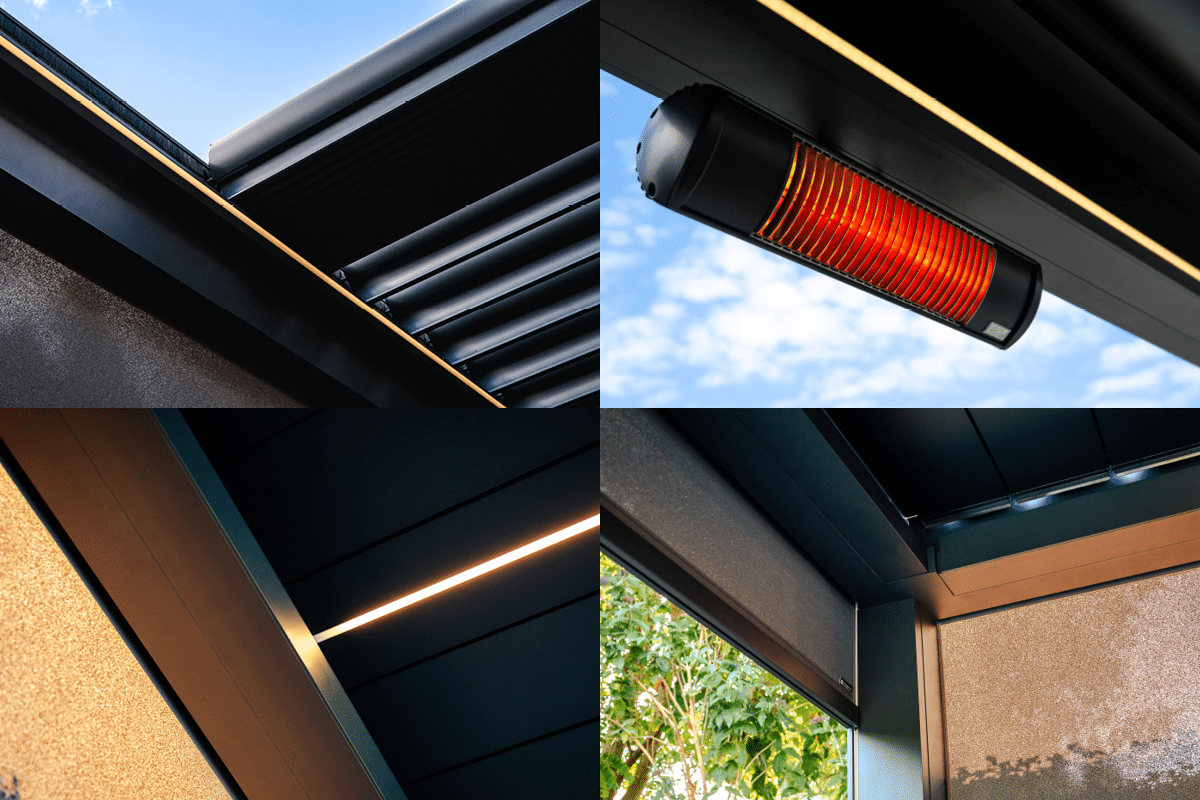 Outdoor Living Pod | Louvered Roofs | Pergolas | Canopy | Caribbean Blinds