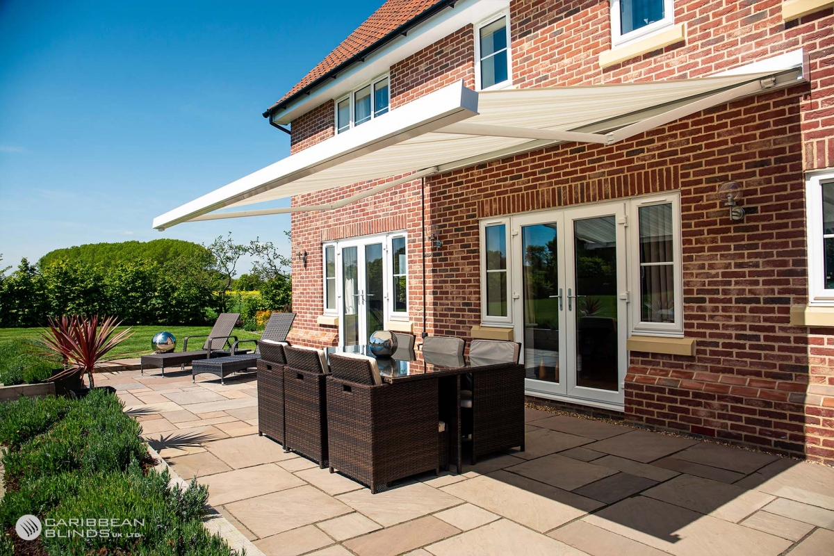 Patio Awnings | Caribbean Blinds